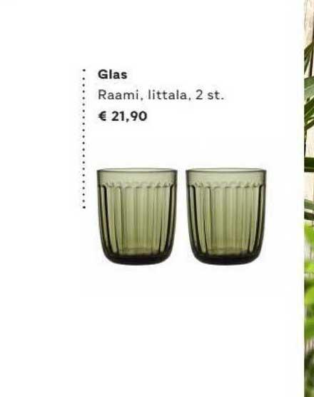 FonQ Glas Raami, Littala, 2 St