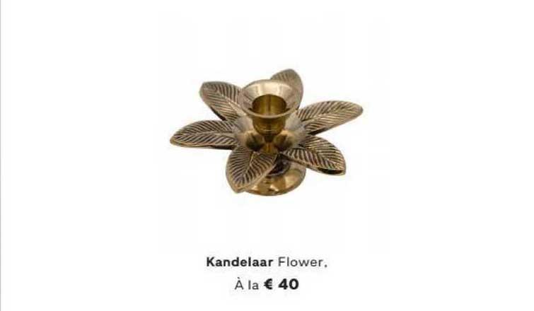 FonQ Kandelaar Flower, À La