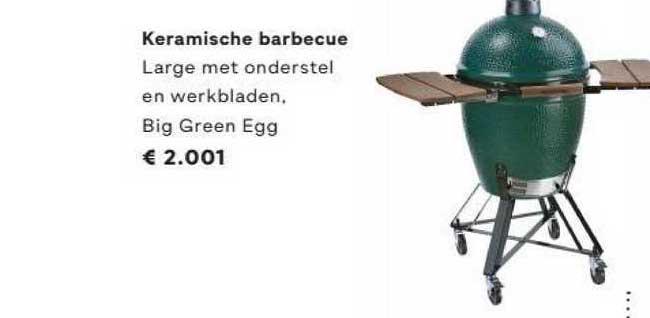 FonQ Keramische Barbecue