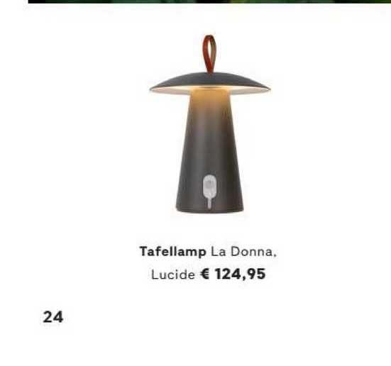 FonQ Tafellamp La Donna, Lucide