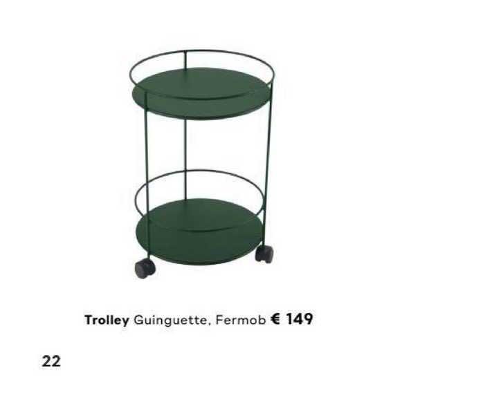 FonQ Trolley Guinguette, Fermob