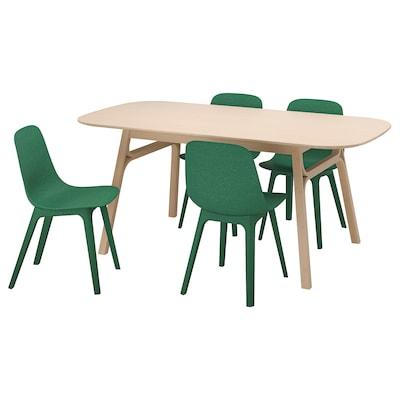 IKEA VOXLÖV / ODGER Tafel En 4 Stoelen