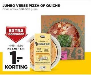 Jumbo Jumbo Verse Pizza Of Quiche