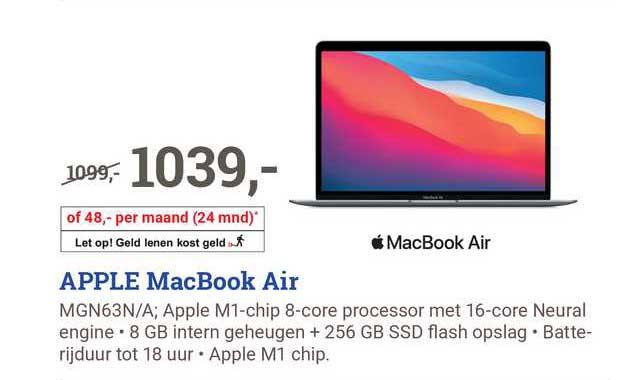 BCC Apple MacBook Air MGN63N-A