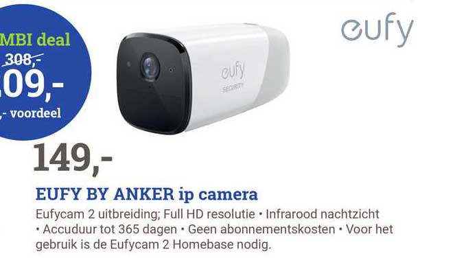 BCC Eufy By Anker IP Camera