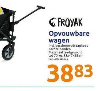 Action Froyak Opvouwbare Wagen