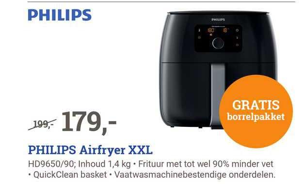 BCC Philips Airfryer XXL HD9650-90