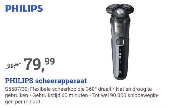 BCC Philips Scheerapparaat S5587-30