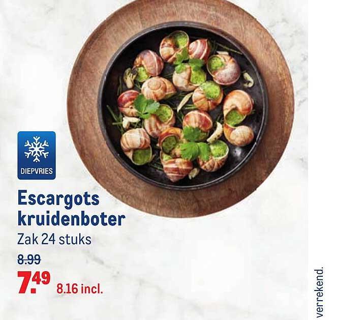 Makro Escargots Kruidenboter