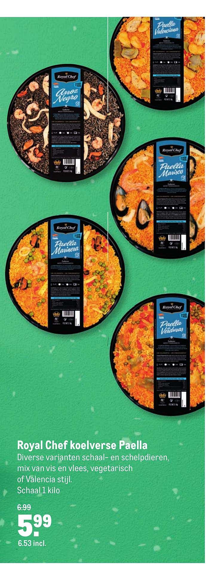 Makro Royal Chef Koelverse Paella