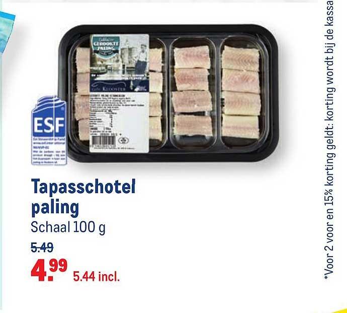 Makro Tapasschotel Paling