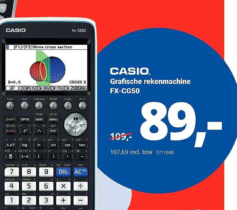 Office Centre Casio Grafische Rekenmachine FX-CG50