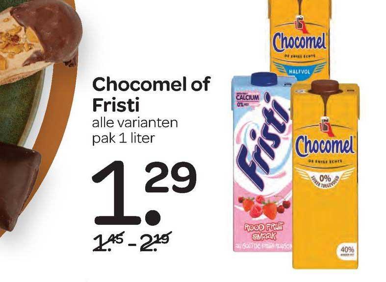 Spar Chocomel Of Fristi