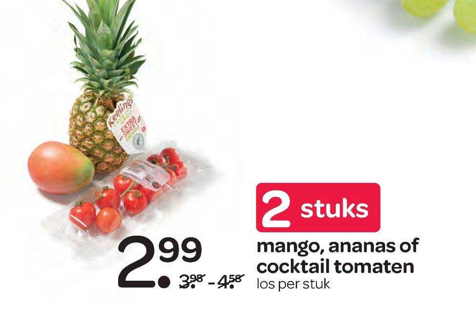 Spar Mango, Ananas Of Cocktail Tomaten