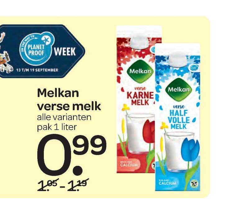 Spar Melkan Verse Melk