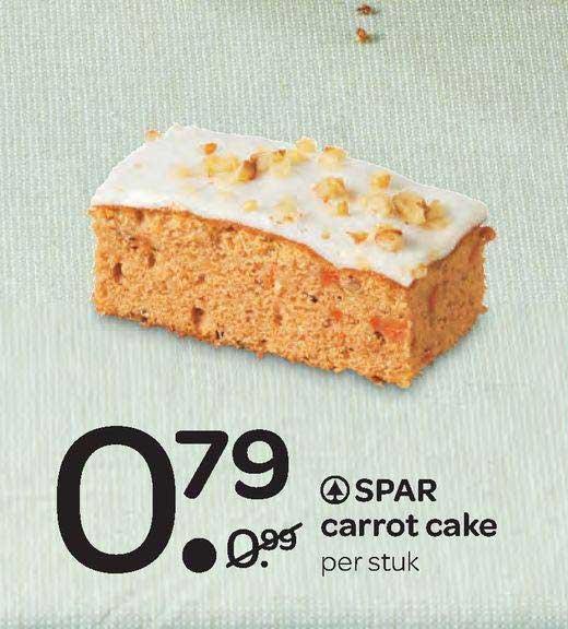 Spar Spar Carrot Cake