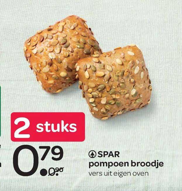 Spar Spar Pompoen Broodje