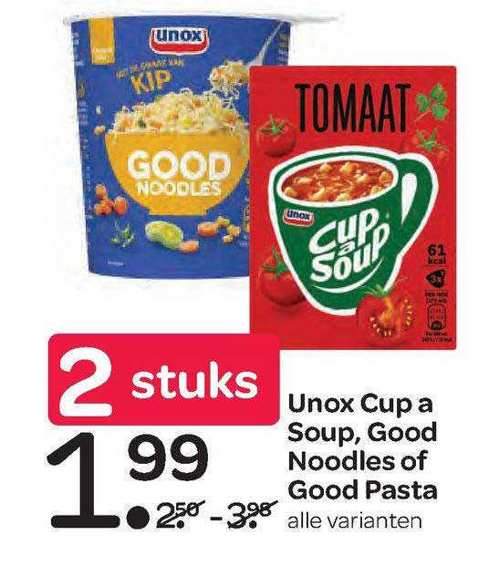 Spar Unox Cup A Soup, Good Noodles Of Good Pasta