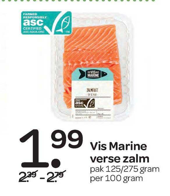Spar Vis Marine Verse Zalm