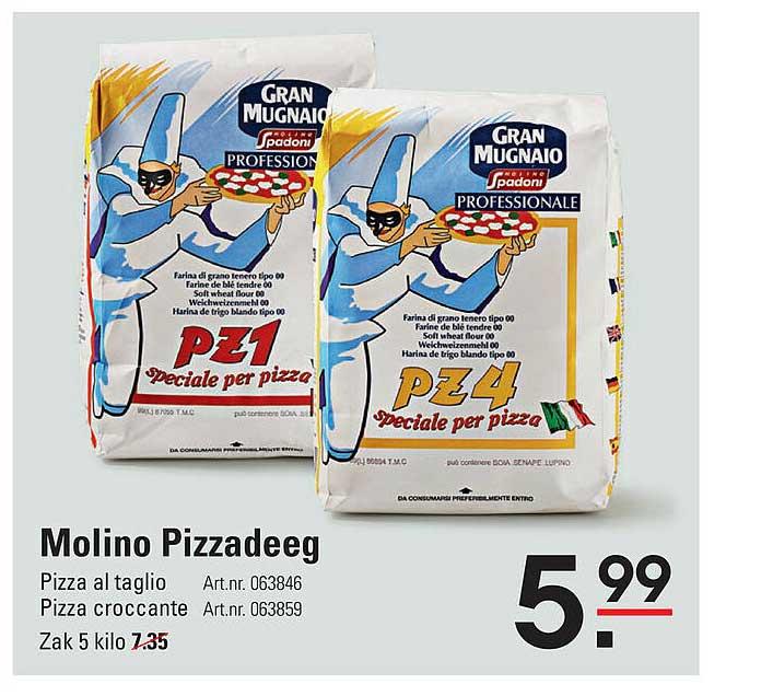 De Kweker Molino Pizzadeeg
