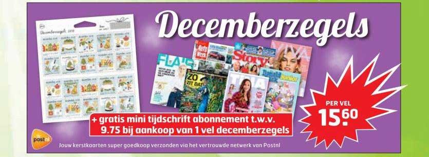 Trekpleister Decemberzegels