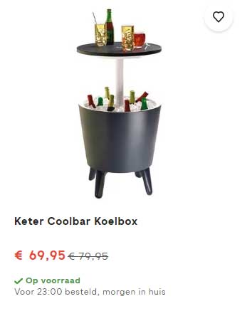 FonQ Keter Coolbar Koelbox