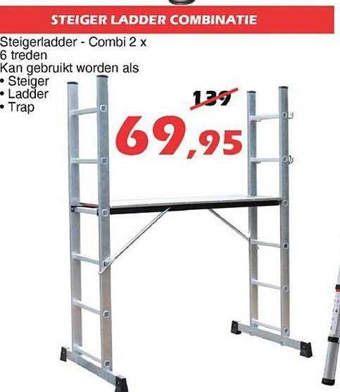 ITEK Steiger Ladder Combinatie