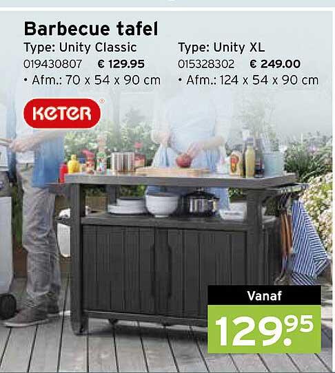 Heuts Barbecue Tafel