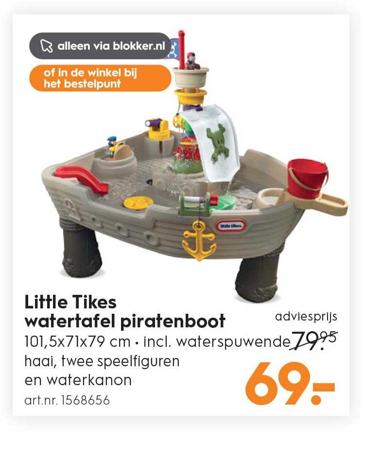 Blokker Little Tikes Watertafel Piratenboot