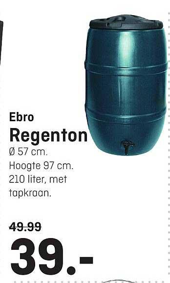 Hubo Ebro Regenton