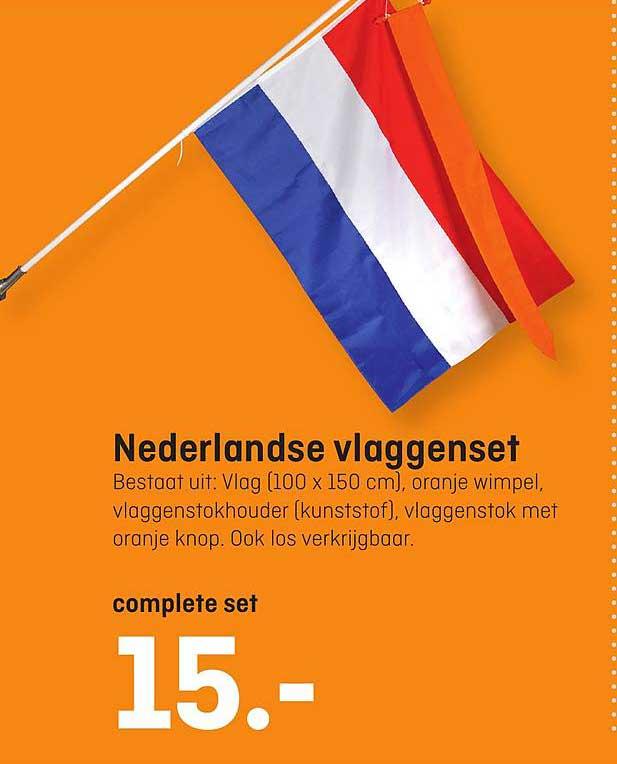 Hubo Nederlandse Vlaggenset