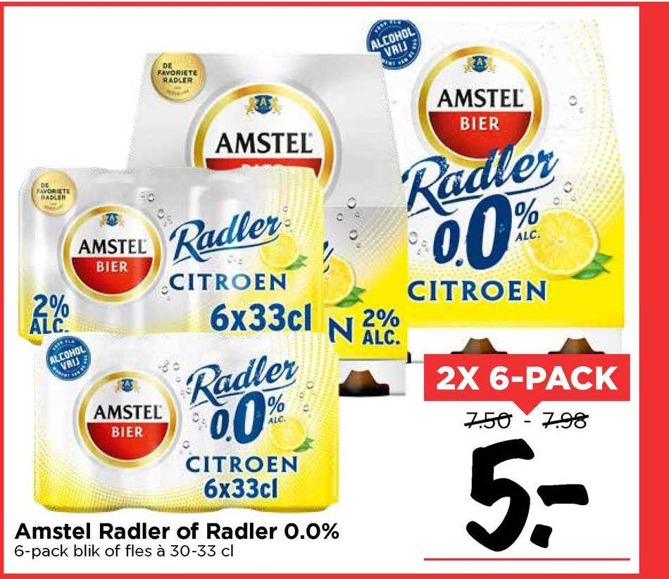 Vomar Amstel Radler Of Radler 0.0%