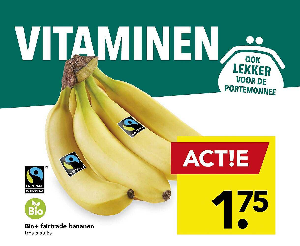 DEEN Bio+ Fairtrade Bananen