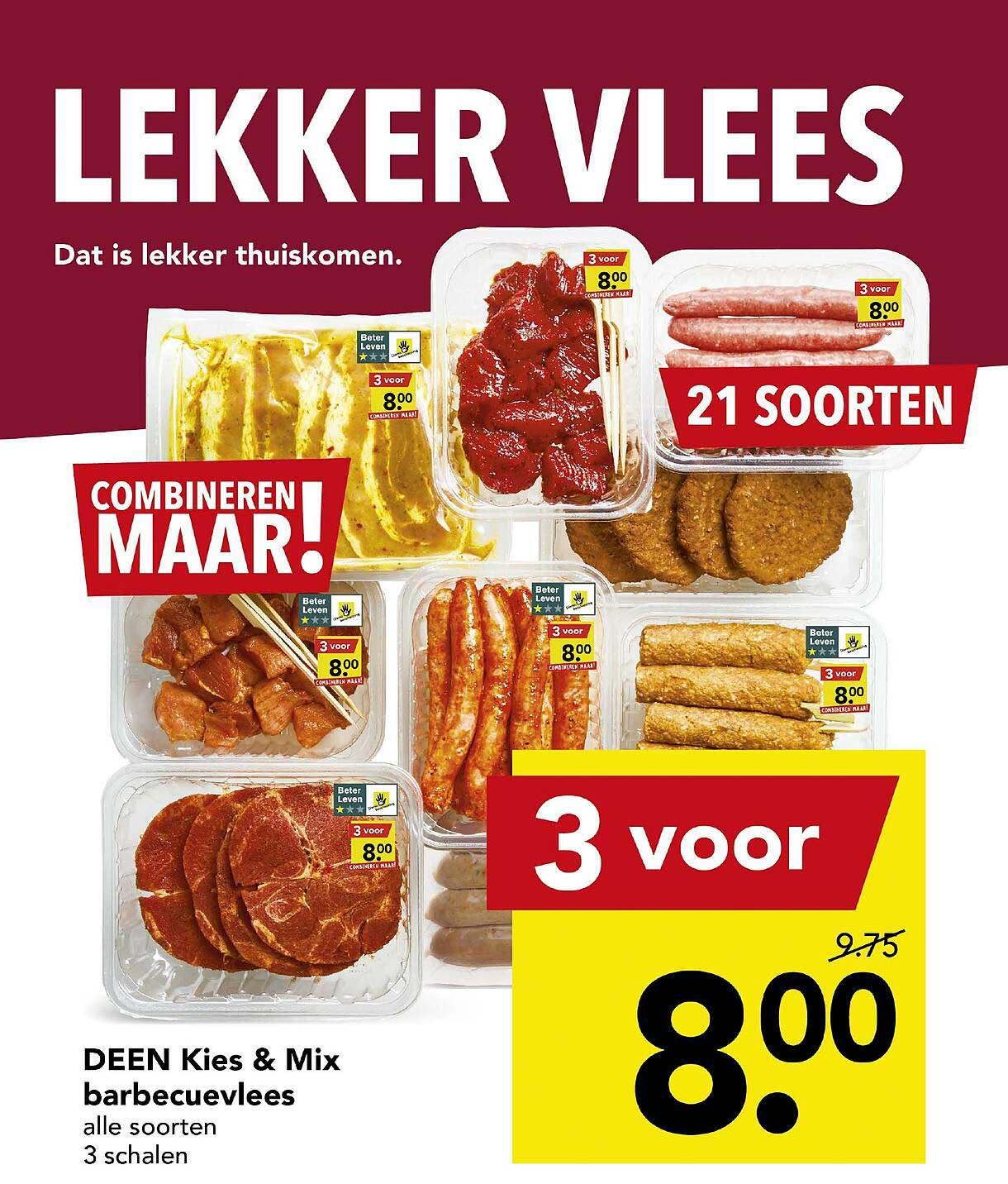 DEEN Deen Kies & Mix Barbecuevlees