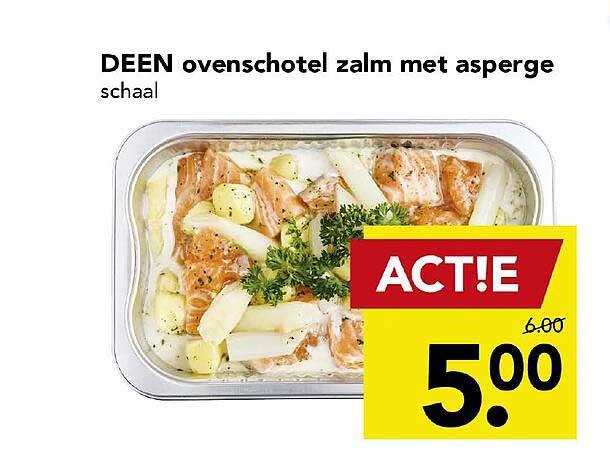 DEEN Deen Ovenschotel Zalm Met Asperge