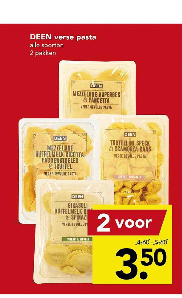 DEEN Deen Verse Pasta