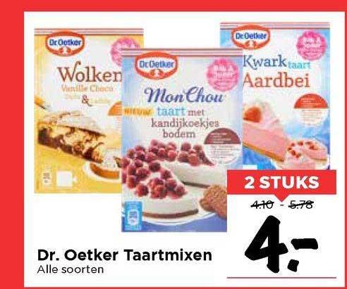Vomar Dr. Oetker Taartmixen