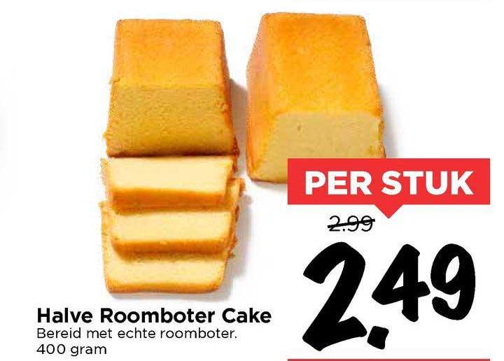 Vomar Halve Roomboter Cake