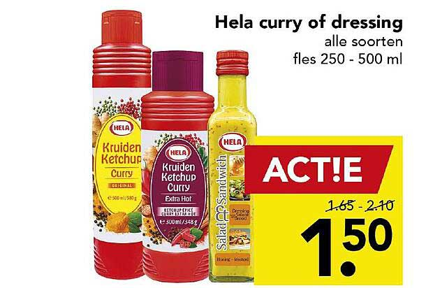 DEEN Hela Curry Of Dressing