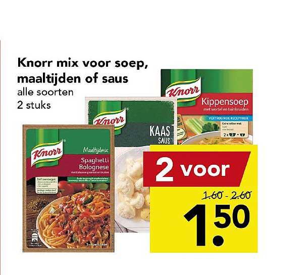 DEEN Knorr Mix Voor Soep, Maaltijden Of Saus