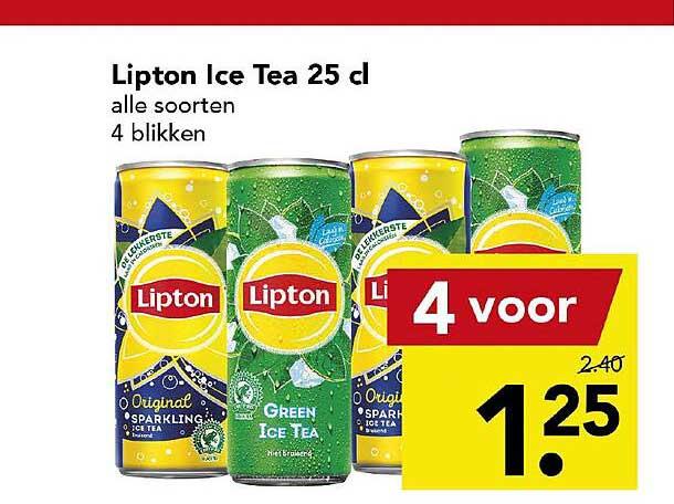 DEEN Lipton Ice Tea 25 Cl