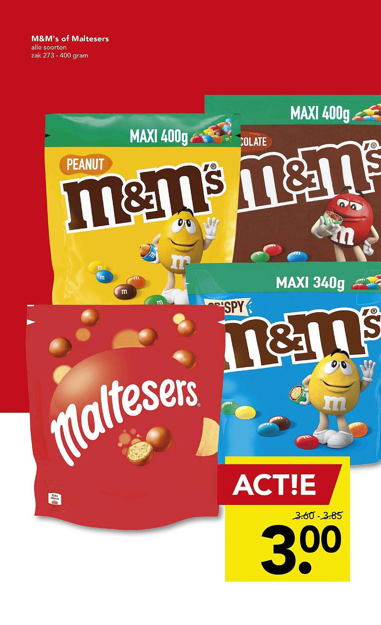 DEEN M&M's Of Maltesers