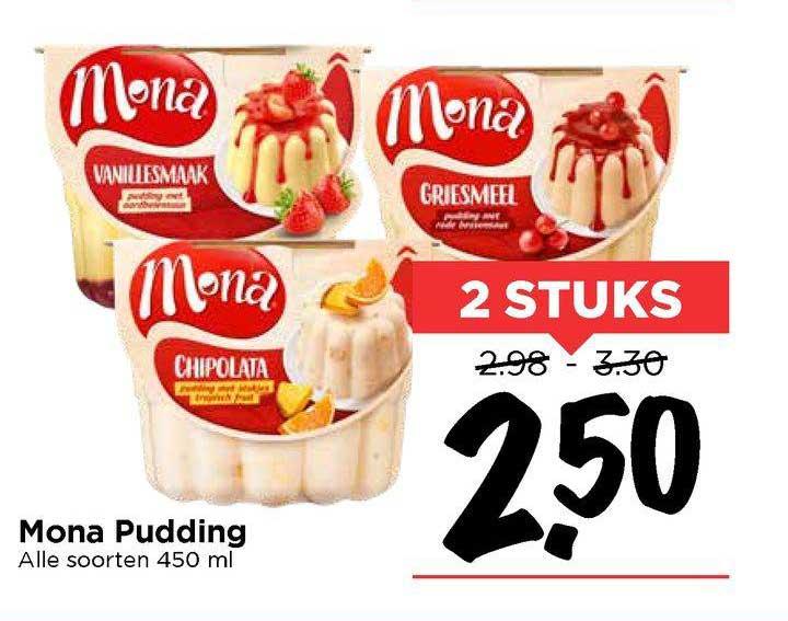 Vomar Mona Pudding