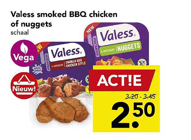DEEN Valess Smoked BBQ Chicken Of Nuggets