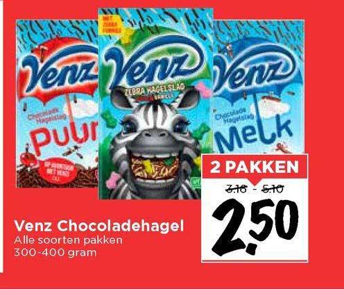 Vomar Venz Chocoladehagel