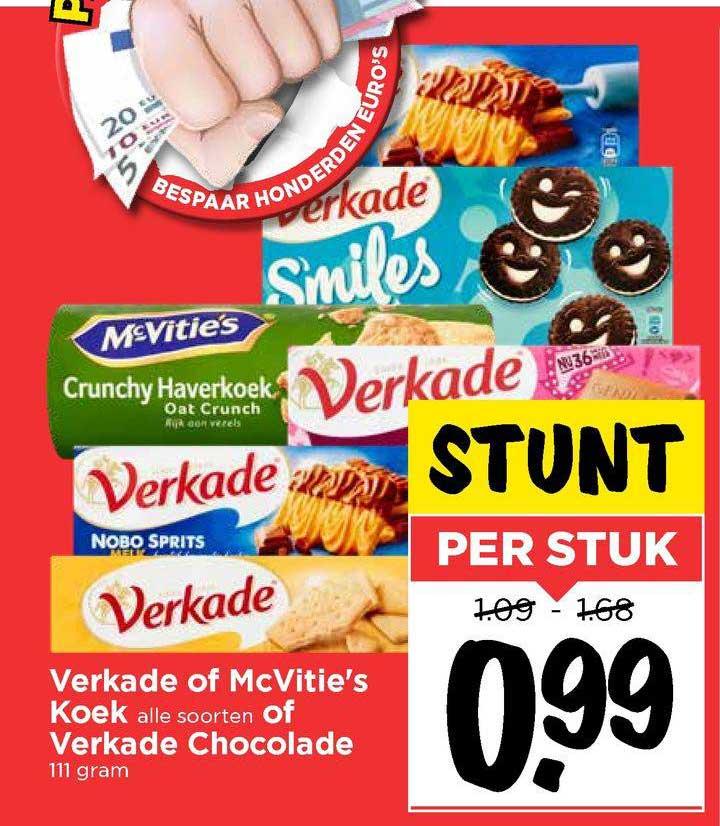 Vomar Verkade Of McVitie's Koek Of Verkade Chocolade