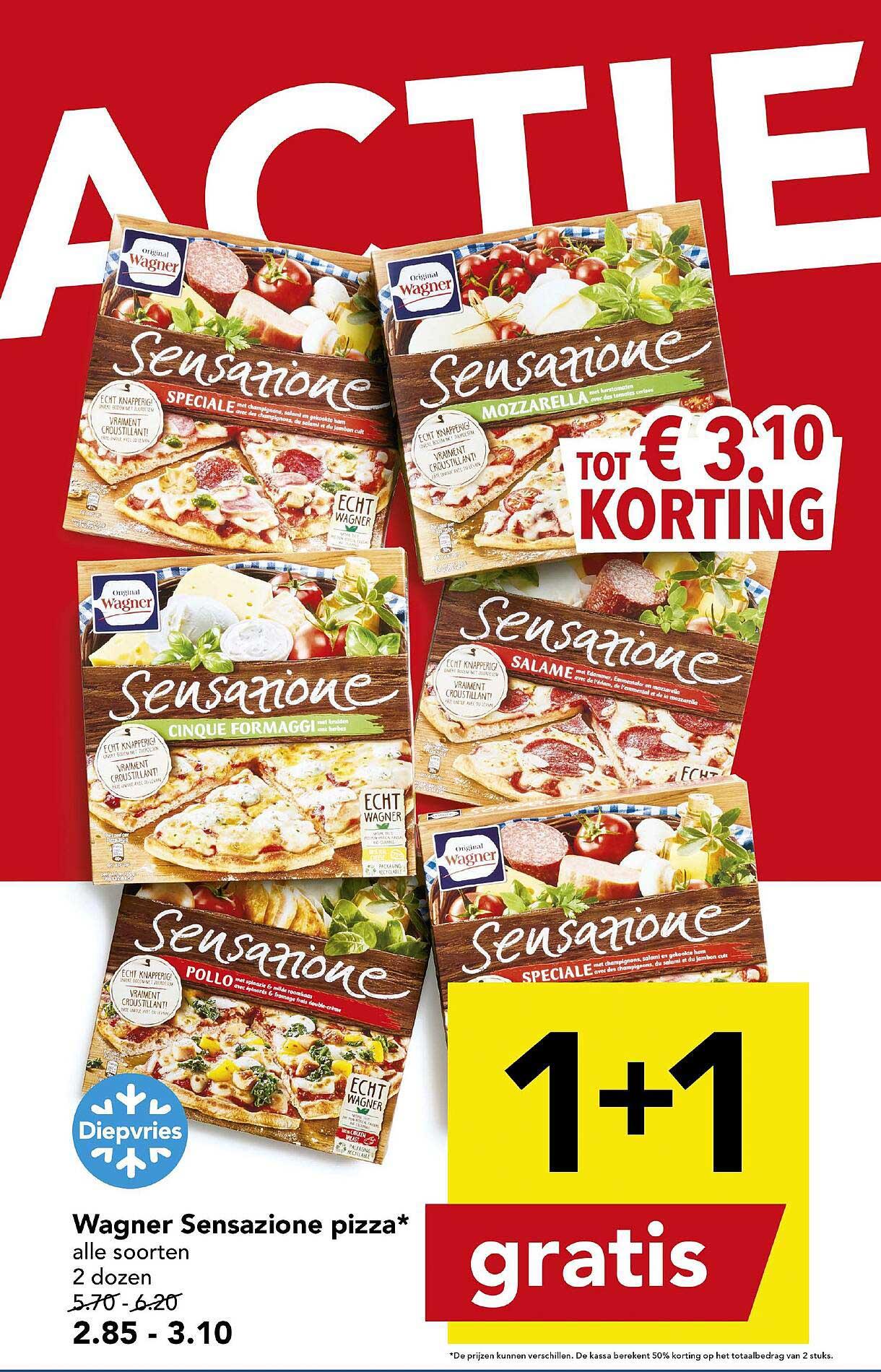 DEEN Wagner Sensazione Pizza 1+1 Gratis