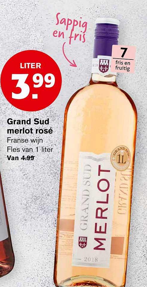 Hoogvliet Grand Sud Merlot Rose