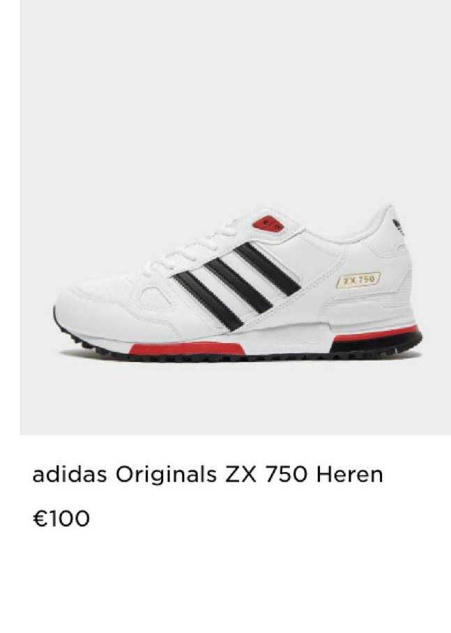 JD Sports Adidas Originals ZX 750 Heren