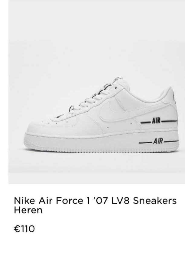 JD Sports Nike Air Force 1 'O7 LV8 Sneakers Heren